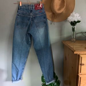 Vintage Lucky Brand Mom Style High Rise Jeans